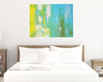 Large ORIGINAL Abstract Painting - Signed and ready to hang - Abstract Wall Art