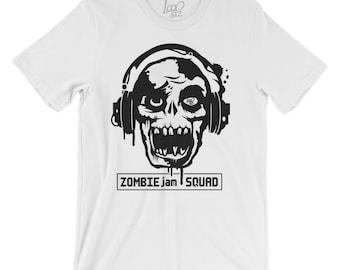 Streetwear | Zombies Tee | Zombie Jam Squad Shirt | Zombie T-Shirt | The Walking Dead