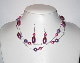 Necklace/earrings set