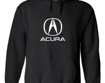 ACURA MOTOR Graphic Hoodie  100% Screen Printed  ***Free Shipping***