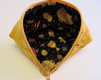 Wonder Clip Bag - Zipper Pouch - Sweet Pea Pod - Coin Purse - Mini Storage Pouch - Treasure Bag - Gift Bag - Fabric Pouch - Sewing Pouch