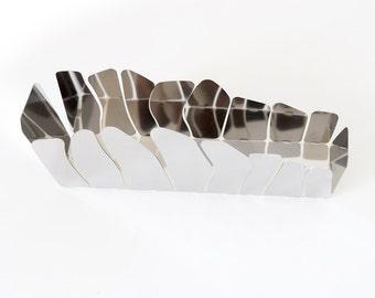 Trash OPUS in stainless steel