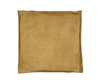 "8"" Square Leather Sandbag Cushion for Metal Dapping Stamping Hammering Chasing Forming Jewelry Tool - FORM-0117"