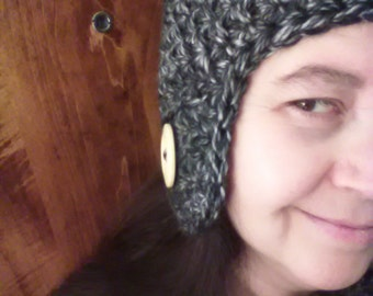 Crochet Ear Flap hat