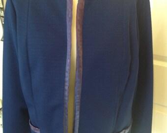 Original Vintage 1960's Norman Linton Box Jacket - Size 16