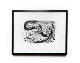 Snakes / graphic art