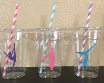 Gymnastics Party Cups