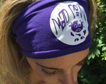Designer Calf headbands ~ Mad Cow