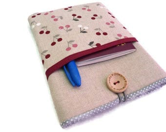 "Macbook air case, Macbook air 13 case, Macbook pro 13 sleeve, 13"" Laptop sleeve, Laptop case, 14 inch laptop case, cherry, case pocket"