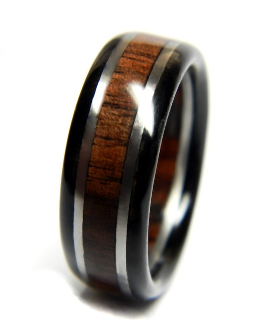 Stately Walnut And Ebony Wedding Ring Engagement Ring Wood. Eyeball Rings. Cushion Engagement Rings. 3 Band Rings. Untraditional Wedding Rings. Inlaid Wood Wedding Rings. Julia Engagement Rings. Black Onyx Wedding Rings. Lion's Head Rings