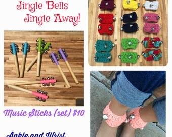 Music Sticks & Music Anklets/Wristlets