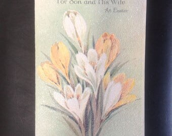 Vintage Easter card ( unused )