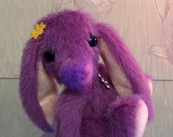OOAK, artist bear/bunny, Botany Bunny rabbit,