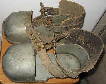Soviet USSR navy Diver's Boots shoes Couple Lead 1950-1960