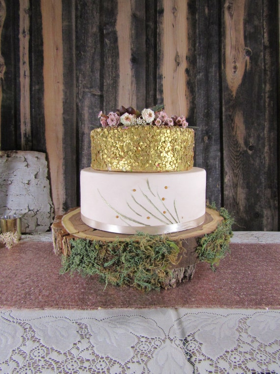 SALE Gorgeous Mossy Woodland Cake Stand Cupcake Stand