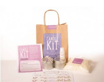Craft kit - make your own candles - candle kit - kid's kit - gift