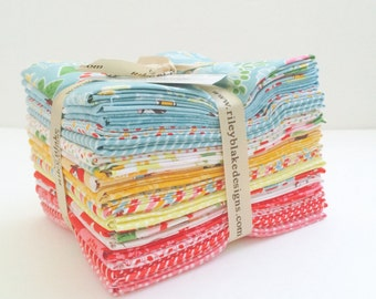Fat Quarter Bundle Wistful Winds by Doohikey Designs for Riley Blake Designs- 18 Fabrics
