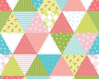 SALE!! 1 Yard Glamper-licious by Samantha Walker for Riley Blake Designs -  6317 Green
