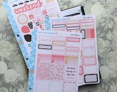 Sweet Things Kit! 3 Page Punched Kit, for your Erin Condren Life Planner, Plum Planner,  Filoflax, calendar