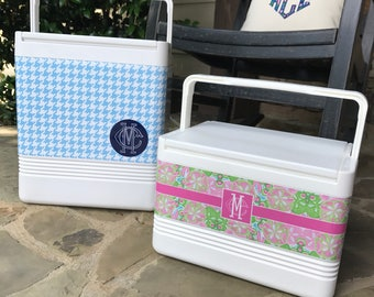 Monogrammed/Personalized Tropical Collection Cooler