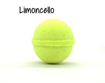 Limoncello Bath Bomb | Limoncello Goat Milk Bath Bomb Fizzy