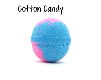 Cotton Candy Bath Bomb | Cotton Candy Goat Milk Bath Bomb | Candy Bath Bomb