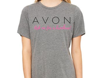 Avon - Ask Me For A Brochure Tee