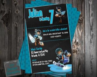 Miles from Tomorrowland - Birthday - Party Invitation - Printable