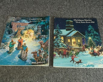 Lot Of 2 Ideals Publications Christmas Books