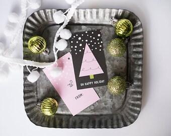 Christmas Gift Wrap, Christmas Gift Tags, Pastel Holiday, Pink Christmas, Xmas Gifting, Pastel Gift Wrap, Chic Christmas, Pink Wrapping