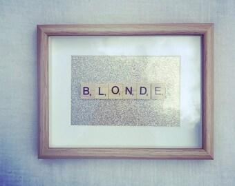 Scrabble Frame Blonde / Brune / Rousse