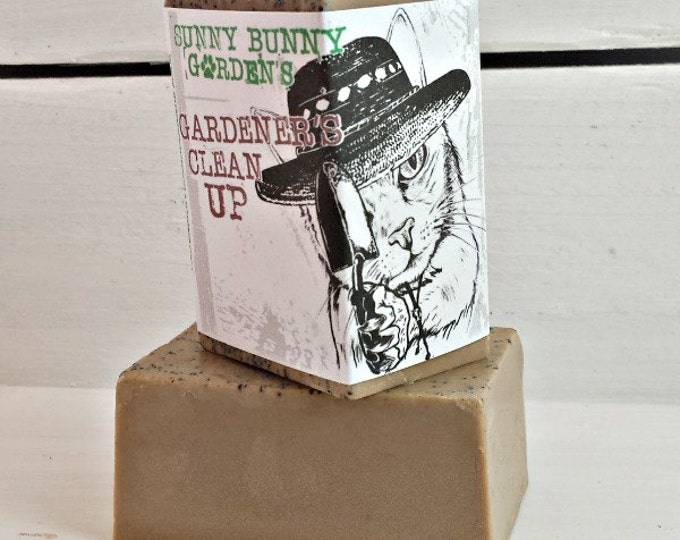 Gardeners Clean Up Soap, Soap for Gardeners, Exfoliating Soap, Soap Gardeners Would Love, Gifts for Gardeners, Rosemary Soap, Lavender Soap