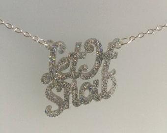 Let It Snow Festive Necklace