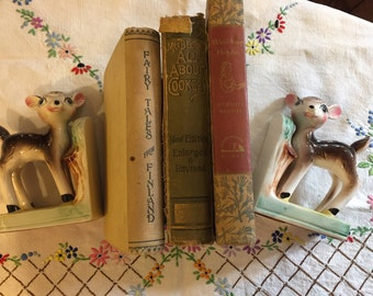 Two vintage bookends