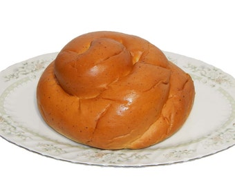 Organic Traditional Round Challah ~ 20 oz. loaf