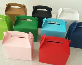 Gable boxes / small kraft gable boxes / favor boxes / small gift boxes / party favor boxes / kraft gable boxes