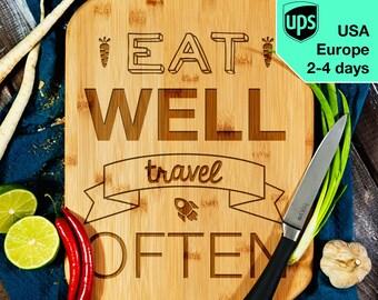 Travel often - Cutting Board