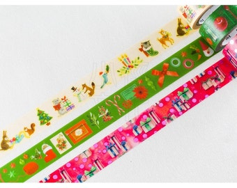 mt merry christmas washi tape (MTCMAS65)