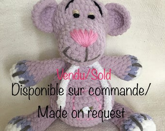 Jojo the Pooh, Vendu/Sold, available on order/made one request.