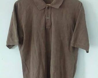 Rare Vintage ISSEY MIYAKE Polo Tshirt Size L