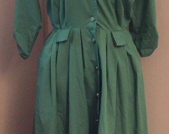 Stunning green vintage dress