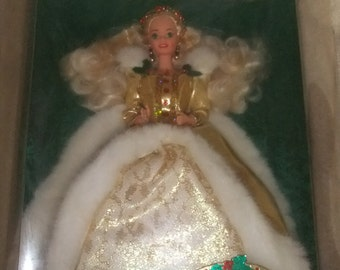 Vintage Barbie Happy Holidays Barbie Special Edition.......1994........ #4