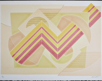 Vintage Print Lithograph Serigraph & Silkscreen, Thomas Barrett Pencil Signed Limited Edition 50