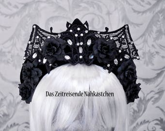 Bat - Kokoshnik, Crown, Headdress, Headband #9