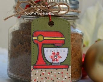 Handmade Christmas Tags, Gift Tags, Labels