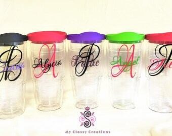 Personalized Tervis Tumbler!