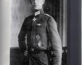 Canvas 16x24; Kurt Wintgens (1 August 1894 - 25 September 1916) Was A German World War I Fighter Ace