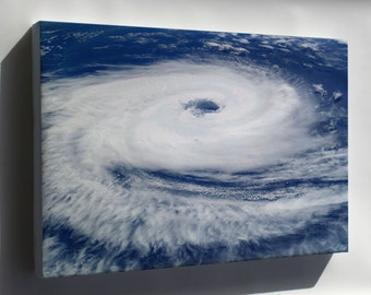Canvas 16x24; Cyclone Catarina, As Seen From The International Space Station