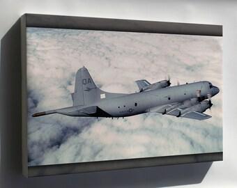 Canvas 16x24; P-3 Orion