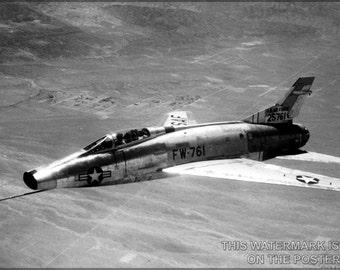 16x24 Poster; F-100 Super Sabre P3